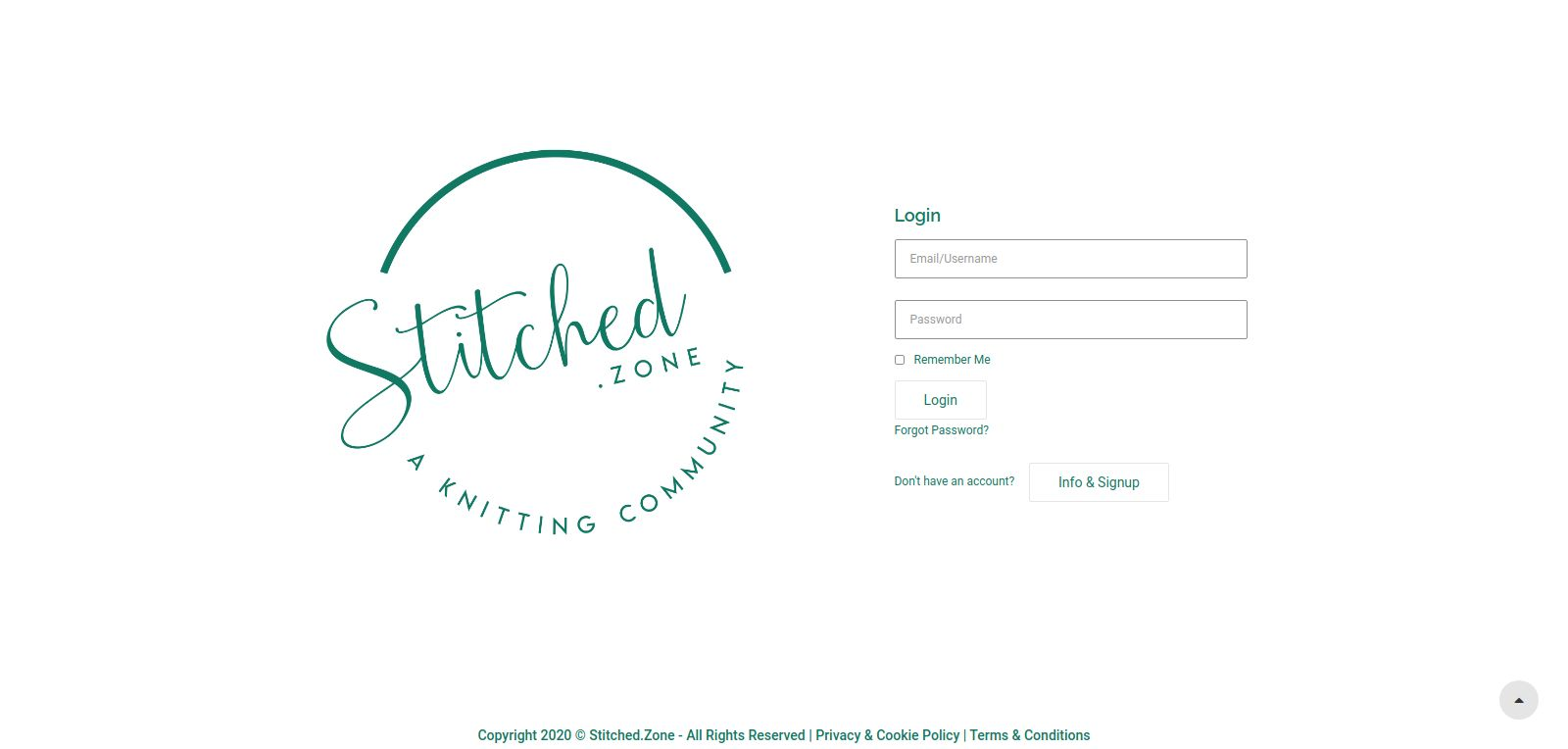 Stitched.zone Home Page